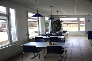 Salas de aula, escritorio e Guaritas 24