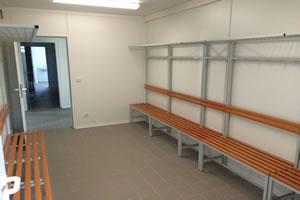 Salas de aula, escritorio e Guaritas 4