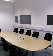 Salas de Aula, Escritórios e Guaritas
